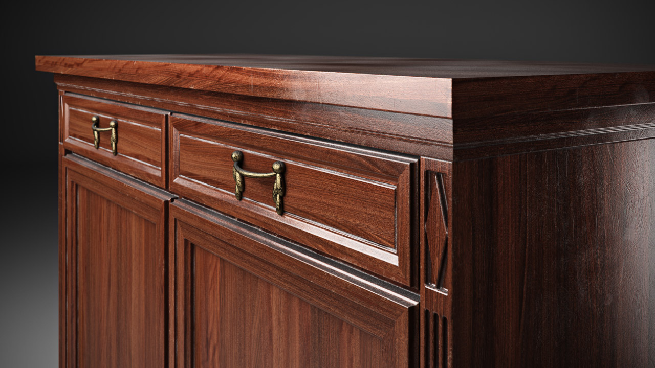 Creating a realistic wood material with V-Ray tutorial - CGPress