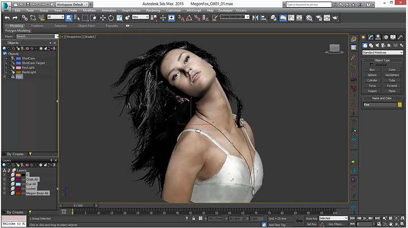 Converting ZBrush hair to Ornatrix hair tutorial - CGPress