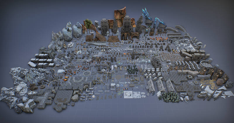 Free 7600 Unreal 4 game assets - CGPress
