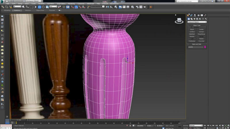Groovy Modeling Turned Furniture Legs In 3Ds Max Tutorial Cgpress Download Free Architecture Designs Scobabritishbridgeorg