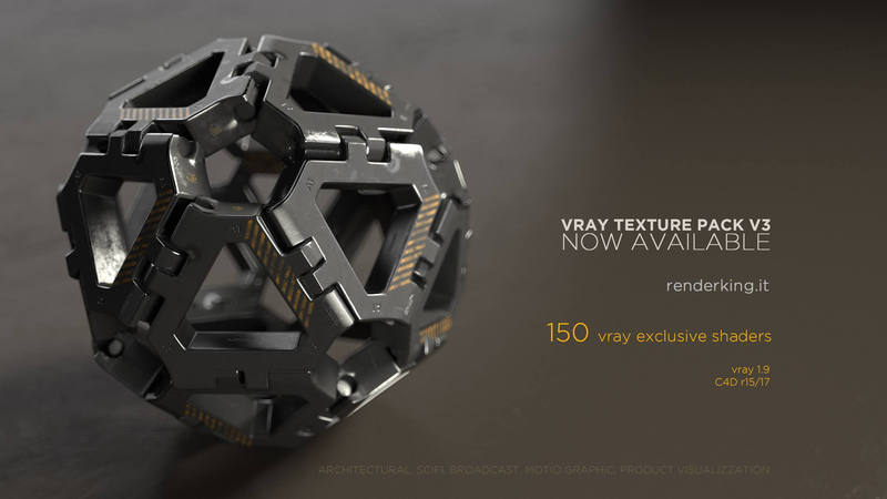 Vray Texture Pack 3 for Cinema 4D - CGPress