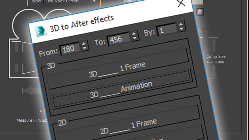 3DS to After Effects script - CGPress