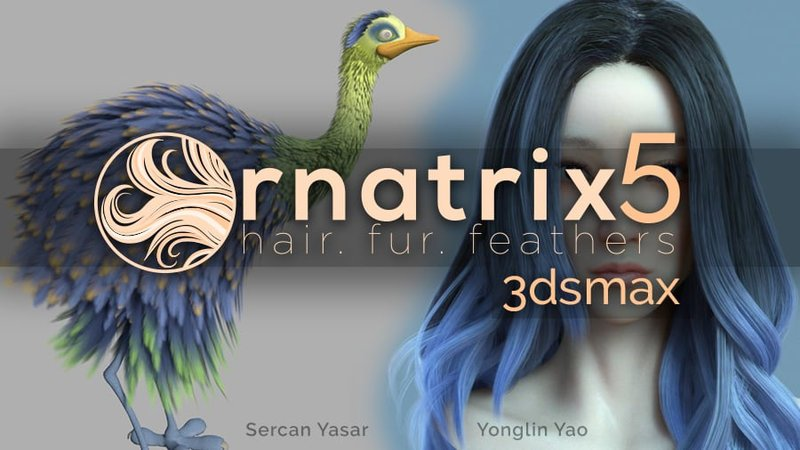 Ornatrix 5 for 3DS Max is out - CGPress